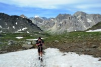 Ecrins mountains french alps trek mont thabor